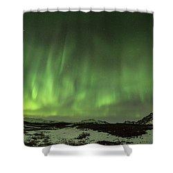 Aurora Borealis Or Northern Lights. Shower Curtain