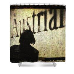 Austrian Silhouette Shower Curtain by Siegfried Ferlin