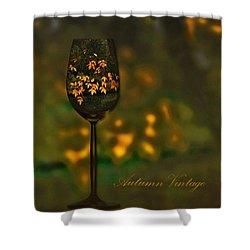 Autumn Vintage Shower Curtain