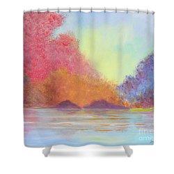 Autumn's Aura Shower Curtain