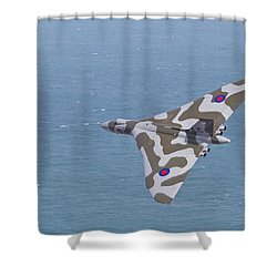 Avro Vulcan  Shower Curtain