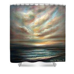 Away 2 Shower Curtain