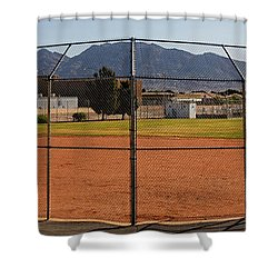 Away Game Shower Curtain