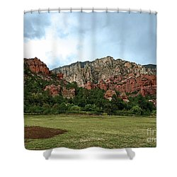 AZ Shower Curtain