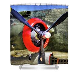 B-25 Shower Curtain