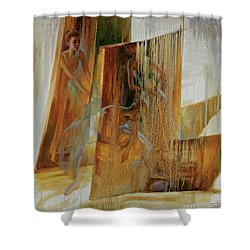 Ba-ll-et Shower Curtain