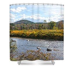 Babbling Brook Shower Curtain
