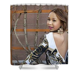 Baby Back Cathy Shower Curtain