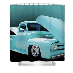 Shower Curtain featuring the photograph Baby Blue 2 by Jim  Hatch