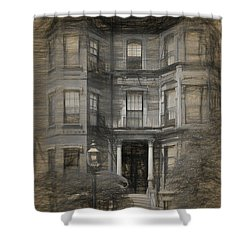 Back Bay Boston Shower Curtain