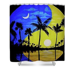 Badmoon Shower Curtain