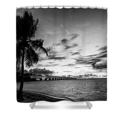 Bahia Honda State Park Sunset Shower Curtain