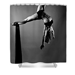 Balance Of Power 2012 Series Hooked Shower Curtain