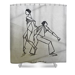 Ballet Practice Shower Curtain