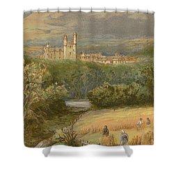 Balmoral Castle Shower Curtain