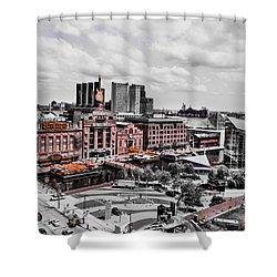 Baltimore Power Plant Shower Curtain