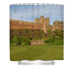 Bamburgh Castle Shower Curtain