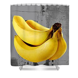 Banana Collection Shower Curtain by Marvin Blaine