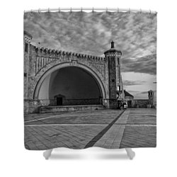Band Shell Shower Curtain
