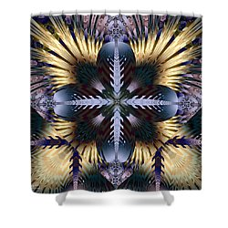 Banshee Shower Curtain by Jim Pavelle