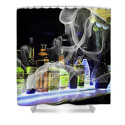 Bar Collection Shower Curtain by Marvin Blaine