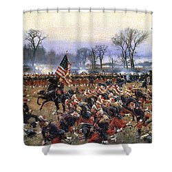 Battle Of Fredericksburg - To License For Professional Use Visit Granger.com Shower Curtain