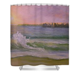 Beach Day Shower Curtain