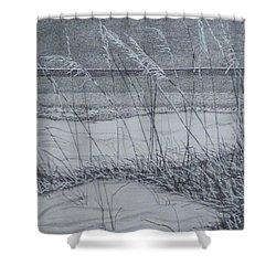 Beach Grass Shower Curtain