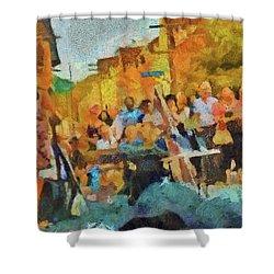 Beaches Jazz Festival Shower Curtain