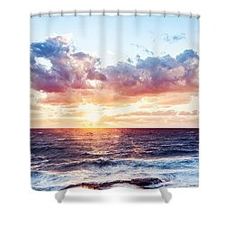 Beautiful Sea Landscape Shower Curtain