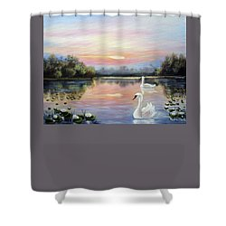 Beauty Shower Curtain by Vesna Martinjak