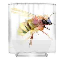 Bee Shower Curtain