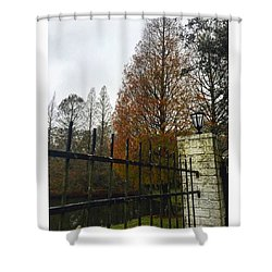 Behind The Clouds The Sun Is Shining Shower Curtain