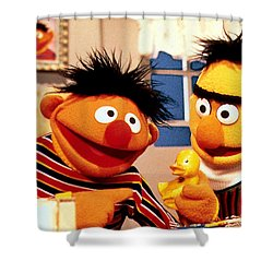 Bert And Ernie Shower Curtain