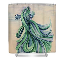 Betta Shower Curtain