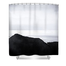 Beyond Shower Curtain by Jez C Self