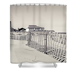 Shower Curtain featuring the photograph Beyond The Dunes by Colleen Kammerer