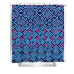 Bibi Khanum Ds Patterns No.2 Shower Curtain