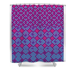 Bibi Khanum Ds Patterns No.4 Shower Curtain