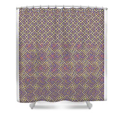 Bibi Khanum Ds Patterns No.6 Shower Curtain