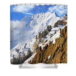 Big Cotonwood Canyon Shower Curtain
