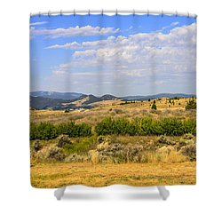 Big Sky Montana Shower Curtain