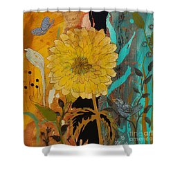 Big Yella Shower Curtain