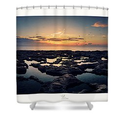 Blata Tal-melh - Salt Rock Shower Curtain