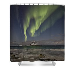 Bleik Island I Shower Curtain