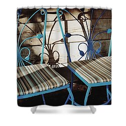 Blooming Seats Shower Curtain