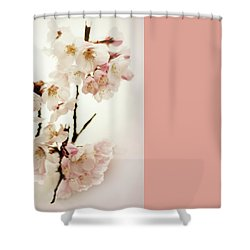 Shower Curtain featuring the photograph Blushing Blossom by Jessica Jenney