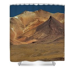 Bolivian Highland Shower Curtain by Gabor Pozsgai