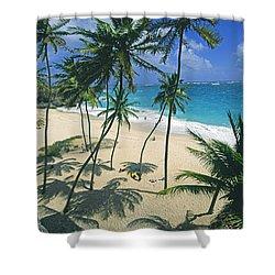 Bottom Bay, Barbados Shower Curtain
