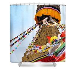 Boudhanath Shower Curtain
